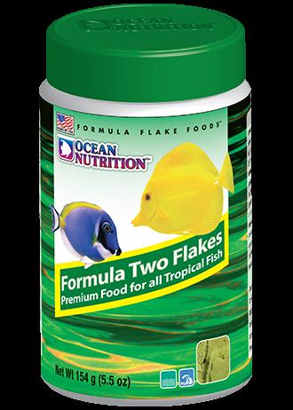 OCEAN NUTRITION Formula Two Flocons 154 gr. nourriture à base d\'algues pour tous poissons d\'eau de mer herbivores