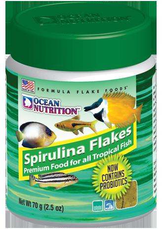 OCEAN NUTRITION Spirulina Flocons 154 gr. nourriture riche en spiruline pour poissons d\'eau de mer et d\'eau douce