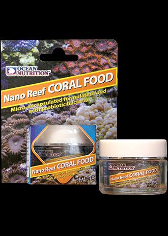 OCEAN NUTRITION Nano Reef Corail 10 gr. nourriture micro-encapsulé avec pro biotiques invertébrés marins.