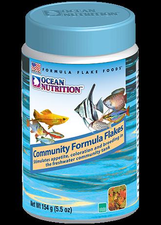 OCEAN NUTRITION Community Formula Flocons 156 gr. nourriture pour tous types de poissons d\'eau douce