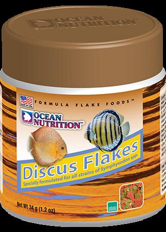 OCEAN NUTRITION Discus Flocons 34 gr. nourriture de base pour Discus avec ail et spiruline