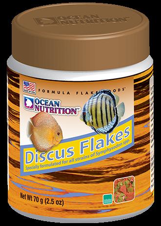 OCEAN NUTRITION Discus Flocons 70 gr. nourriture de base pour Discus avec ail et spiruline