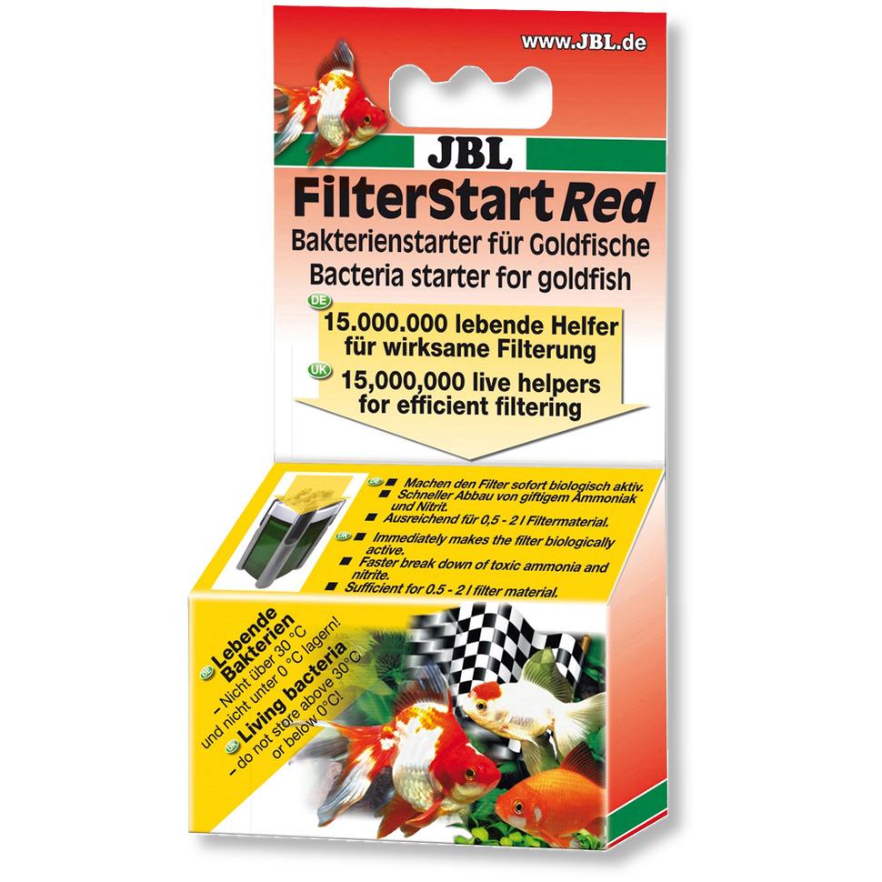JBL FilterStart Red bactéries vivantes pour l\'activation biologique de votre filtre d\'aquarium avec poissons rouges