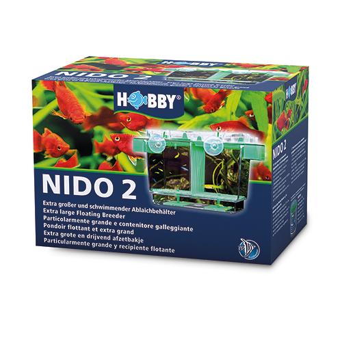 HOBBY Nido 2 pondoir flottant 21 x 16 x 14 cm s\'adaptant automatiquement au niveau de l\'eau