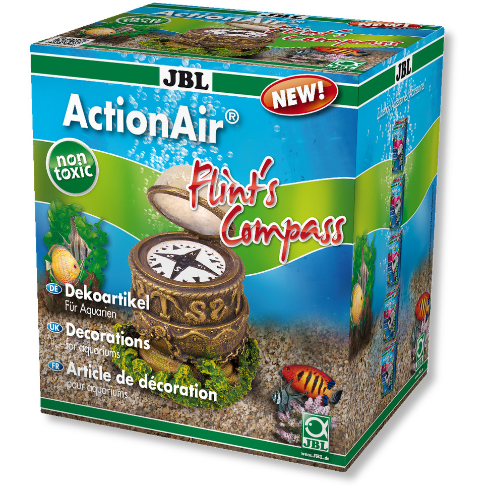 JBL ActionAir Flint\'s Compass diffuseur original représentant une boussole animée au passage de l\'air