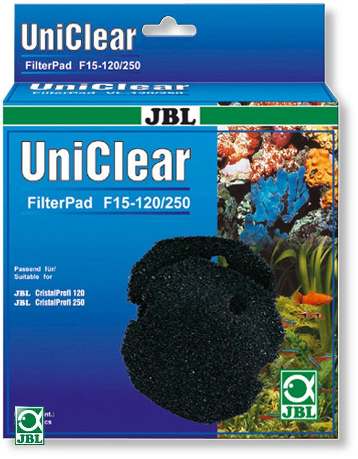 JBL FilterPad F15 CP 120/250 lot de 2 mousses 15 ppi pour filtre JBL CristalProfi 120 et 250