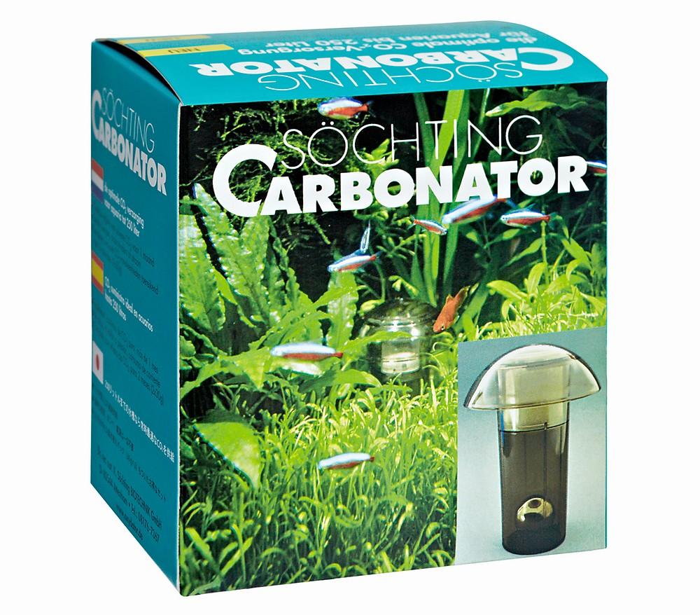 SÖCHTING Carbonator générateur de CO2 pour aquarium jusqu\'à 250 L
