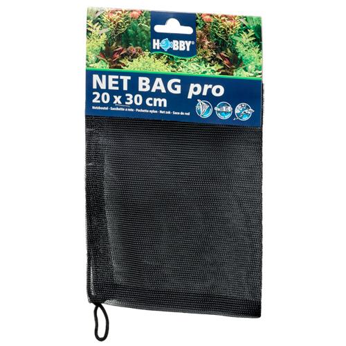 HOBBY Net Bag pro 20 x 30 cm sac à masse filtrante réutilisable pour aquarium d\'eau douce, eau de mer et bassin
