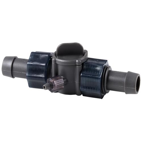 HOBBY Multiflow 2 raccord pour tuyau 16/22 avec entrée / sortie 4/6 pour la diffusion de CO2 ou produits liquides