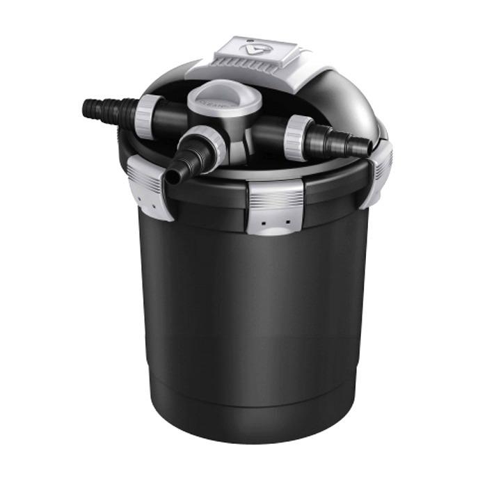 VT Vex-100 filtre à pression avec stérilisateur UV-C 7W pour bassin jusqu\'à 6000 L