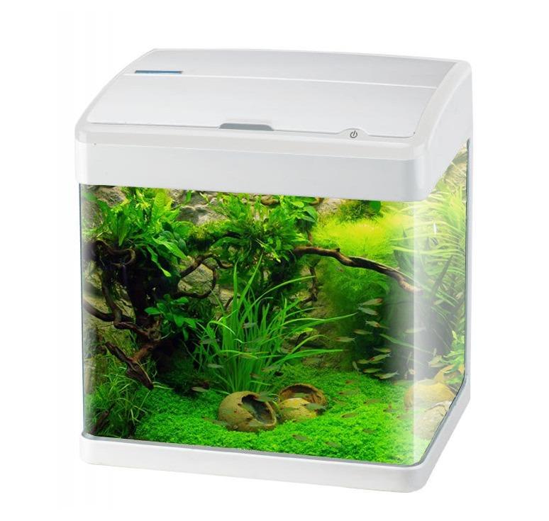 Aquavie nanovie f3 19l nano aquarium quip 32 x 23 x 33 5 for Vente aquarium en ligne