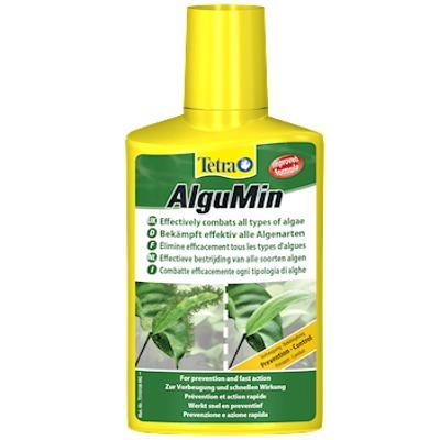 TETRA AlguMin 100 ml élimine en toute simplicité tous les mauvaises algues de l\'aquarium d\'eau douce