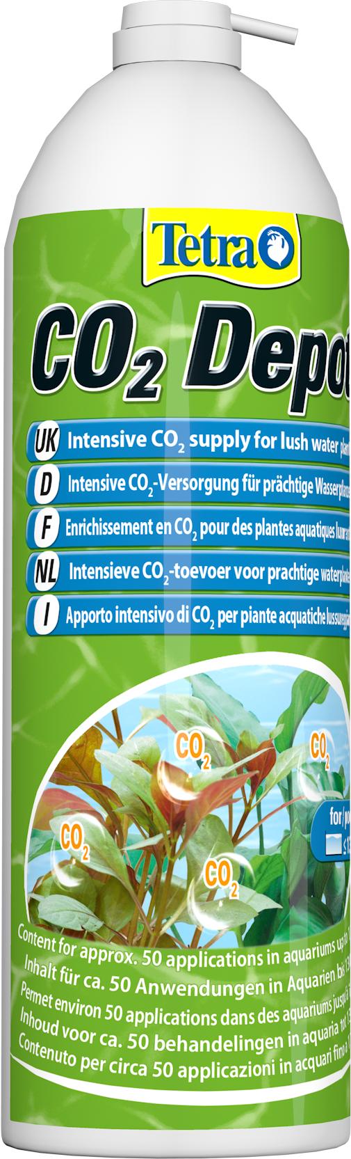 TETRA CO2 Depot 650 ml bouteille de recharge pour kit de fertilisation Tetra CO2-Optimat