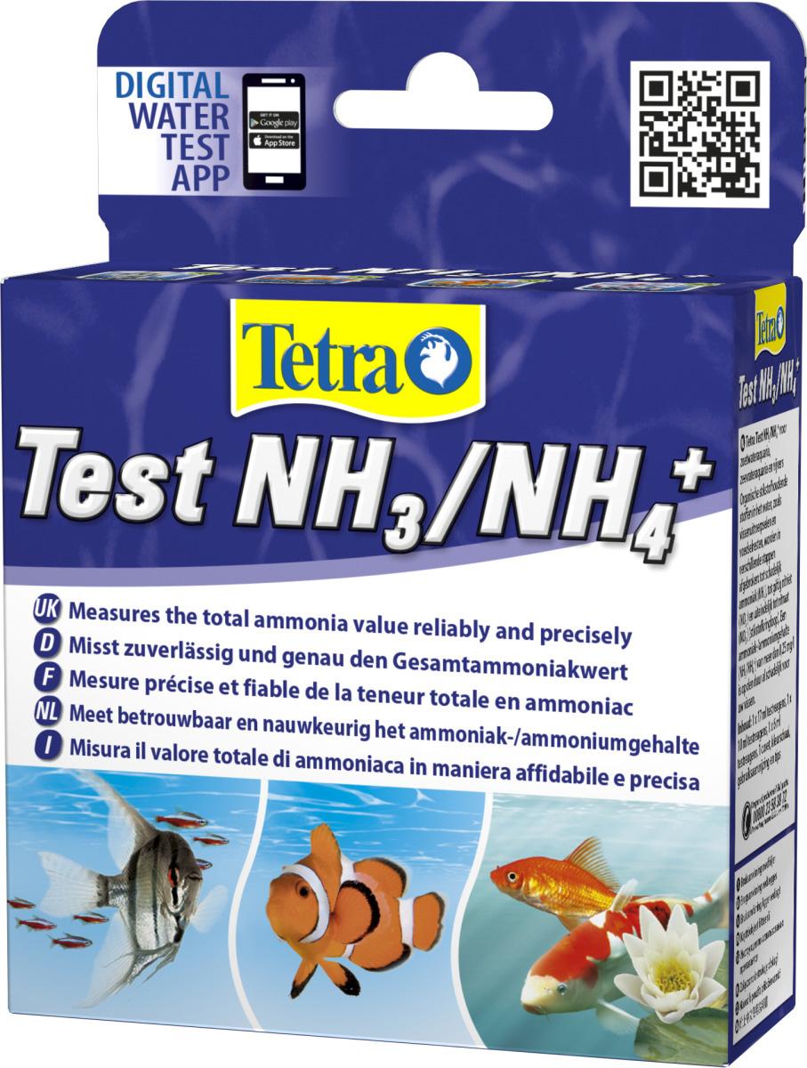 TETRA Test NH3/NH4+ mesure précise et fiable de la teneur en ammoniaque dans votre aquarium