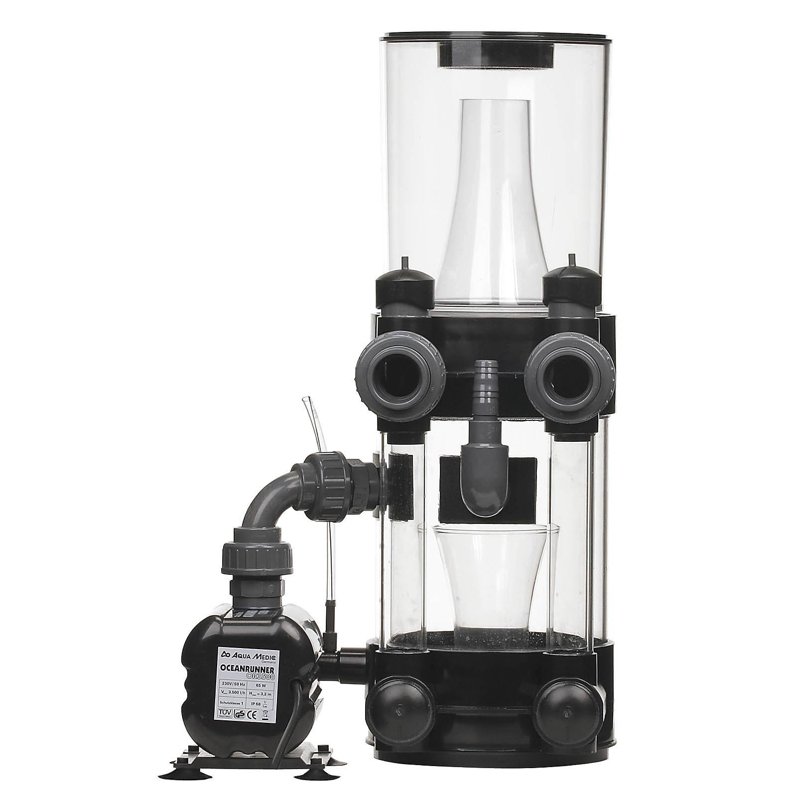 AQUA MEDIC Turboflotor 5000 Shorty Compact écumeur externe pour aquarium jusqu\'à 1500 L