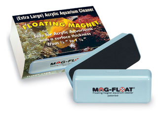 MAG FLOAT Extra Large aimant flottant professionnel pour vitre d\'aquarium en acrylique de 20 à 30 mm d\'épaisseur