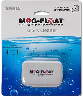 MAG FLOAT Small aimant flottant pour vitre d\'aquarium en verre jusqu\'à 6 mm d\'épaisseur