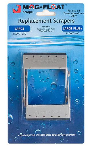MAG FLOAT Lot de 2 lames de remplacement pour aimant à lame Scraper Large et Large Plus
