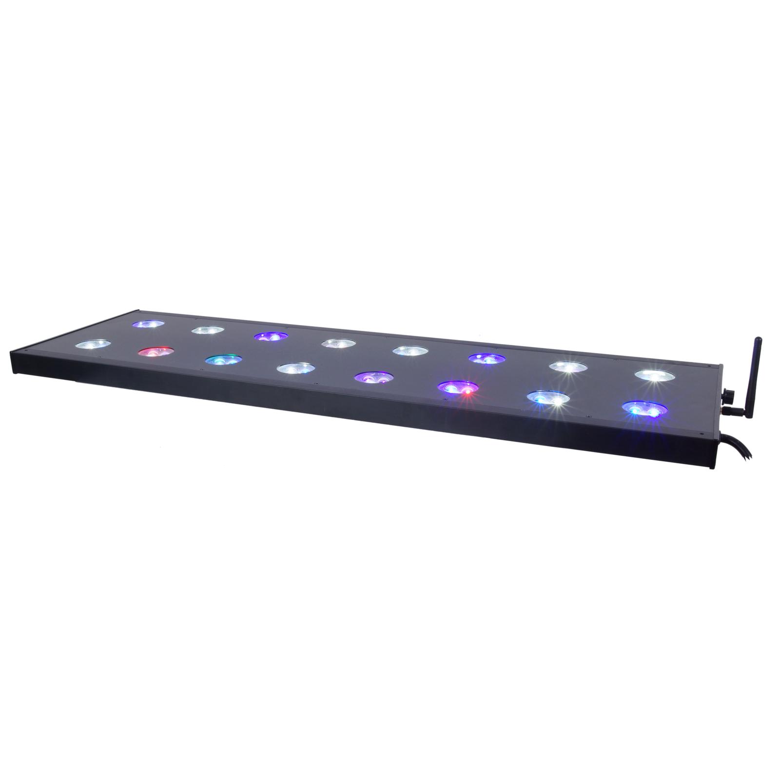 aqua medic spectrus 90 rampe leds 210w pour aquarium d 39 eau de mer et d 39 eau douce de 90 130 cm. Black Bedroom Furniture Sets. Home Design Ideas