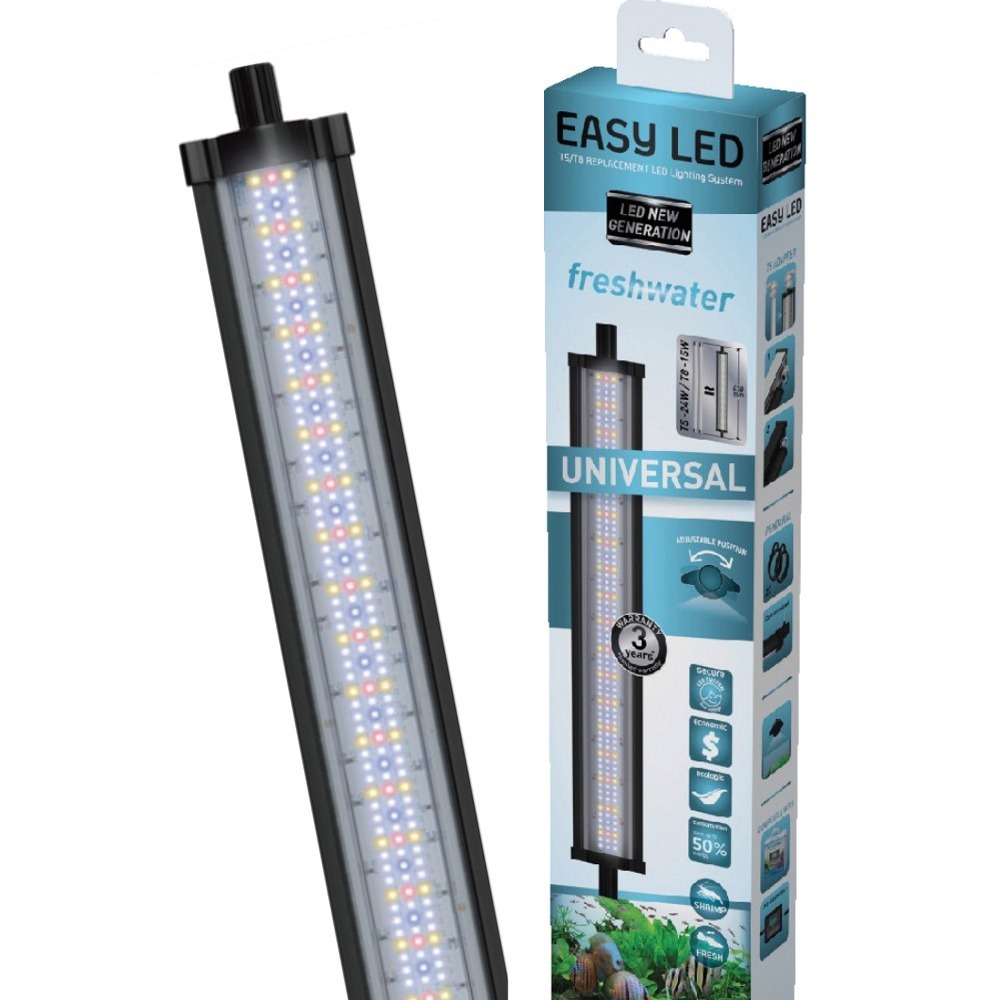 AQUATLANTIS Easy Led FW 6800°k rampe LEDS Eau douce. 7 longueurs au choix