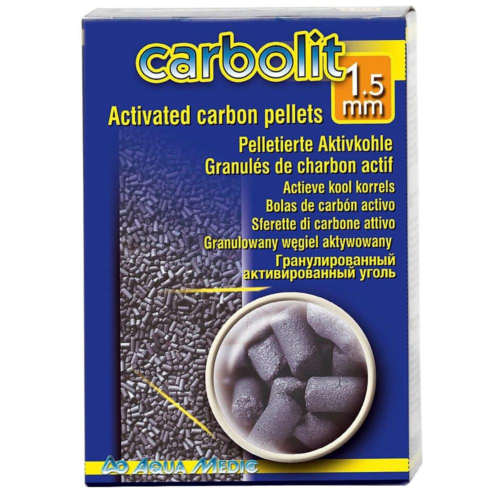 AQUA MEDIC Carbolit 500 gr. granulés de charbon actif diamètre 1,5 mm pour les aquariums d\'eau douce et d\'eau de mer