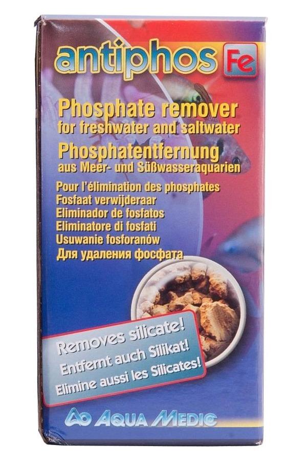 AQUA MEDIC Antiphos Fe 500 ml élimine les phosphates en eau douce et en eau de mer