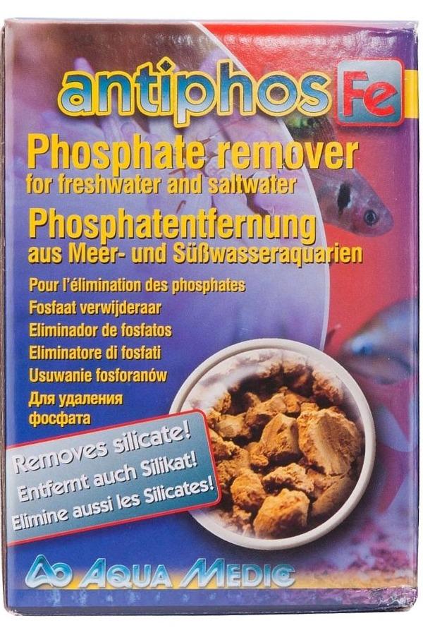 AQUA MEDIC Antiphos Fe 1 L élimine les phosphates en eau douce et en eau de mer