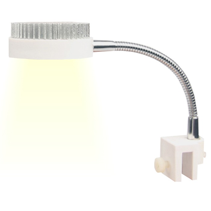 Zetlight mini zn1010 lampe leds puissante 3w 6500 k pour for Nano aquarium eau douce