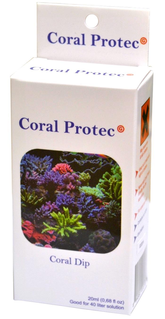 DVH IMPORT Coral Protec 20 ml traitement pour coraux contre les parasites, nécroses et maladies bactériennes