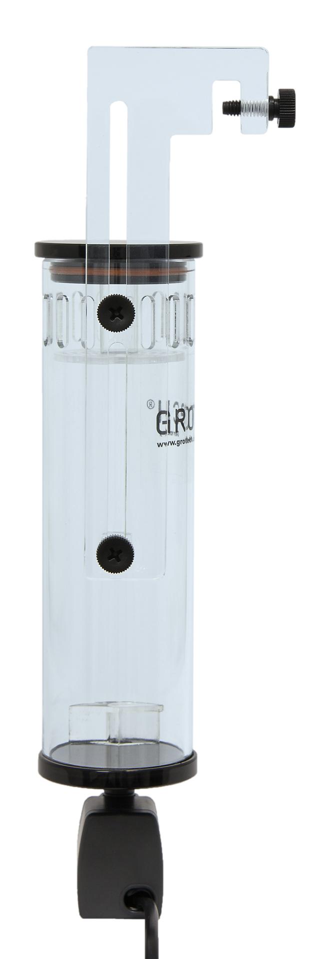 GROTECH BPR-60i réacteur à BioPellets interne avec pompe Eheim pour aquarium jusqu\'à 150 L