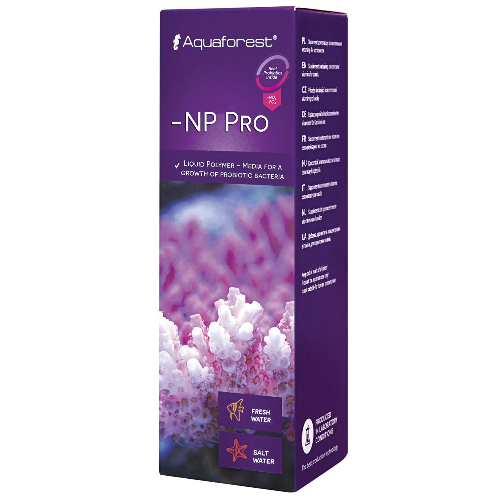 AQUAFOREST -NP Pro 50 ml polymère sous forme liquide pour le développement rapide des bactéries