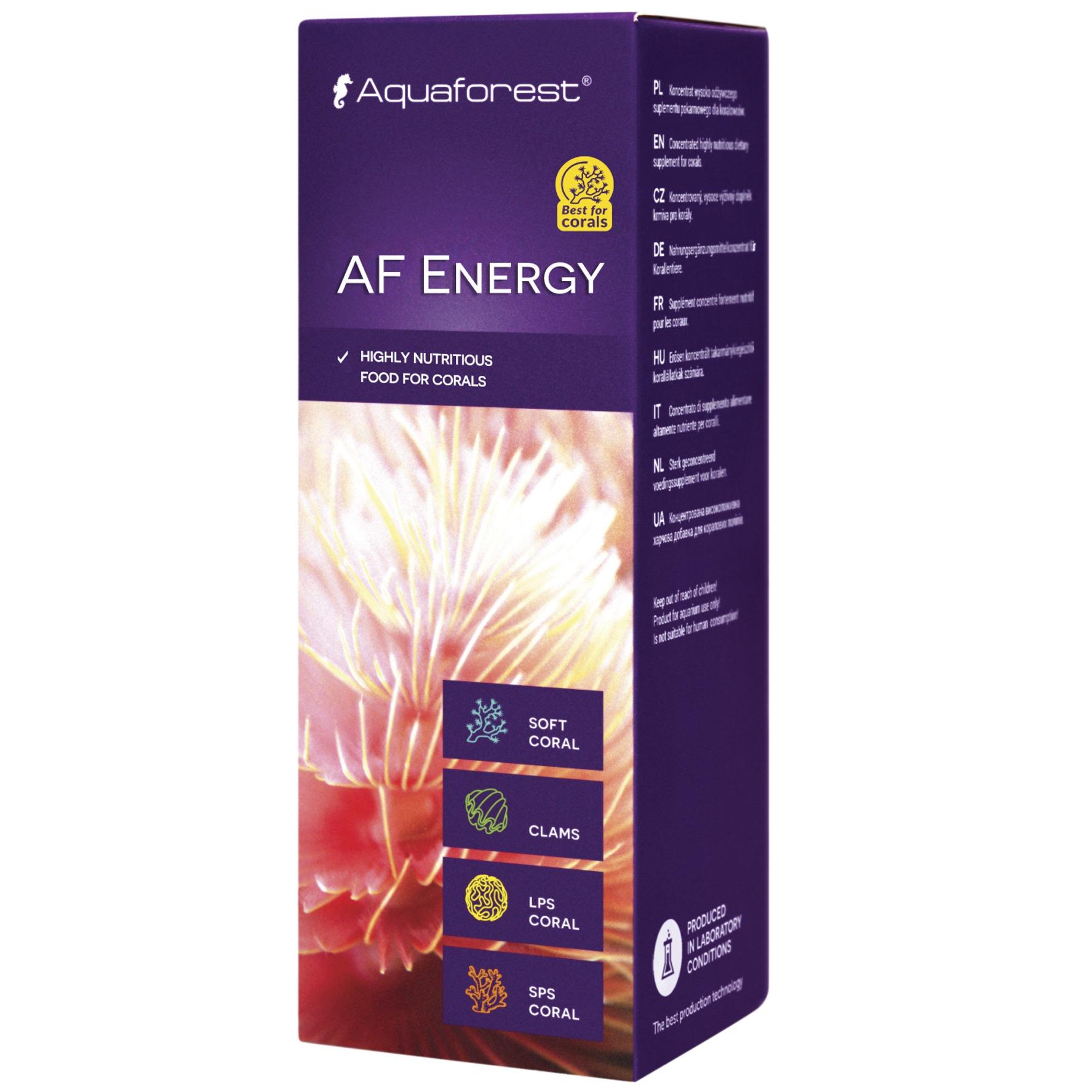AQUAFOREST AF Energy 50 ml concentré nutritif pour l'alimentation des coraux