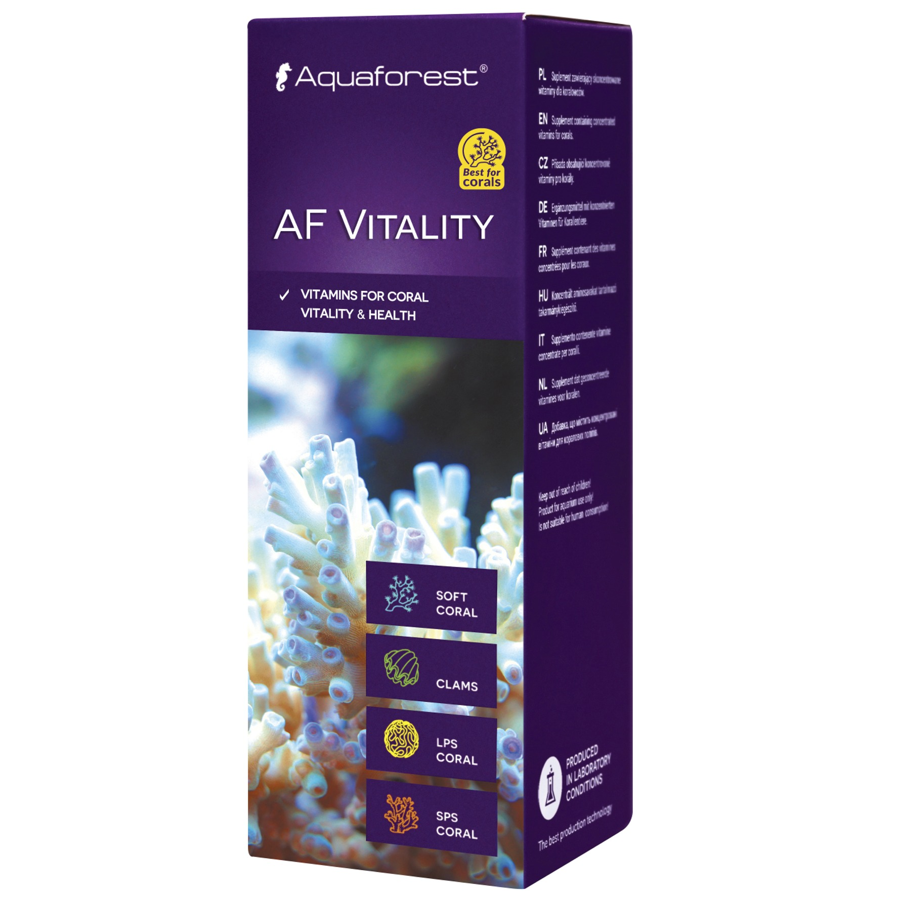 AQUAFOREST AF Vitality 50 ml concentré de vitamines pour coraux