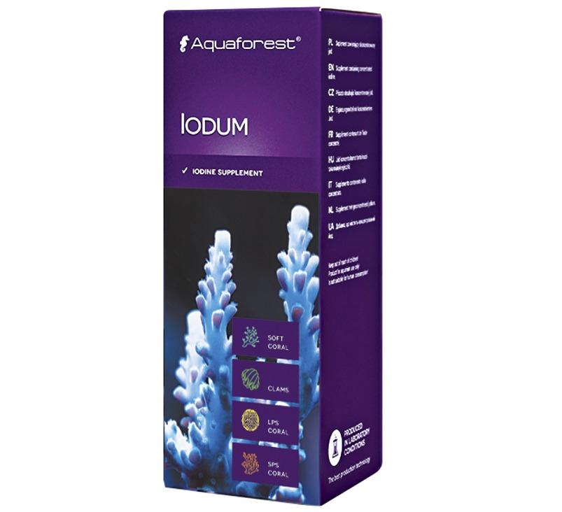 AQUAFOREST Iodum 50 ml complément en Iode pour coraux et invertébrés marins