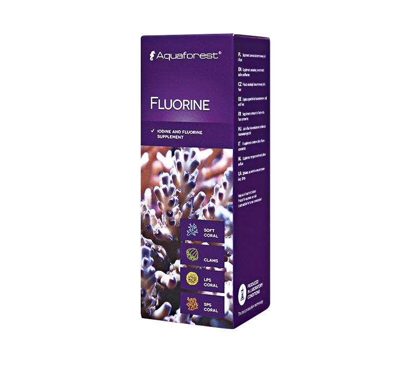 AQUAFOREST Fluorine 10 ml concentré de Iode et de Fluor pour la croissance des coraux durs