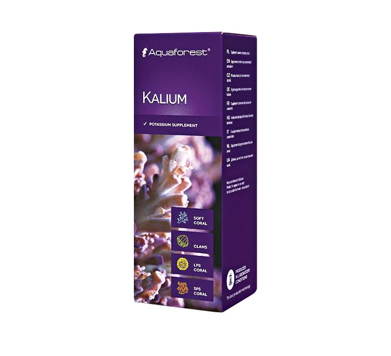 AQUAFOREST Kalium 10 ml concentré de Potassium assurant la bonne santé des coraux mous et durs