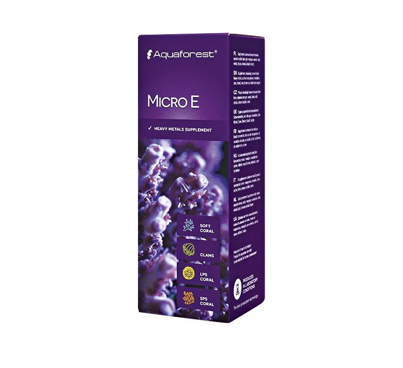 AQUAFOREST Micro E 10 ml mélange concentré d\'oligo-éléments importants pour coraux