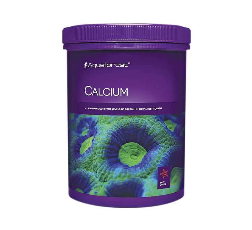 AQUAFOREST Calcium 1 Kg permet de maintenir un niveau stable de Calcium en aquarium récifal