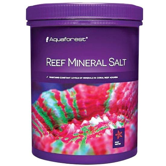 AQUAFOREST Reef Mineral Salt 5 Kg permet de maintenir un niveau stable de minéraux en aquarium récifal