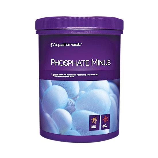 AQUAFOREST Phosphate Minus 1 L masse filtrante anti-phosphates pour aquarium d\'eau douce et d\'eau de mer