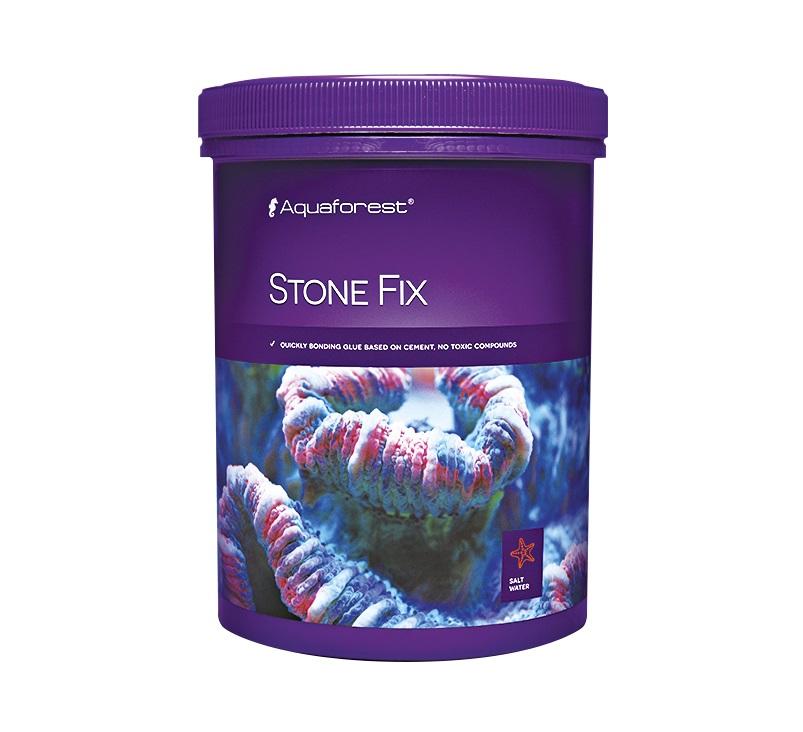 AQUAFOREST Stone Fix 1,5 Kg colle à prise rapide à base ciment pour l\'assemblage de grosses pierres vivantes ou roches