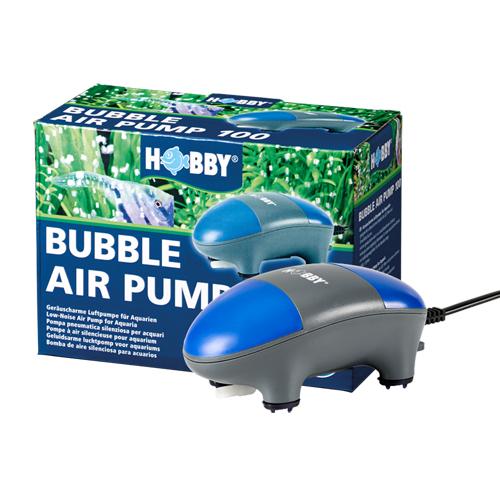 HOBBY Bubble Air Pump 100 pompe à air 100 L/h silencieuse équipée d\'un boitier insonorisant
