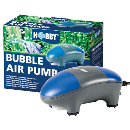 HOBBY Bubble Air Pump 400 pompe à air 400 L/h double sortie silencieuse équipée d\'un boitier insonorisant