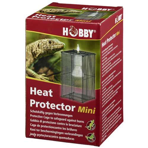 HOBBY Heat Protector Mini cage de protection anti-brûlure 12 x 12 x 18 cm pour spot jusqu\'à 150W