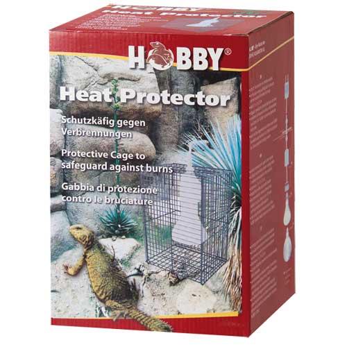 HOBBY Heat Protector cage de protection anti-brûlure 15 x 15 x 25 cm pour spot jusqu\'à 150W