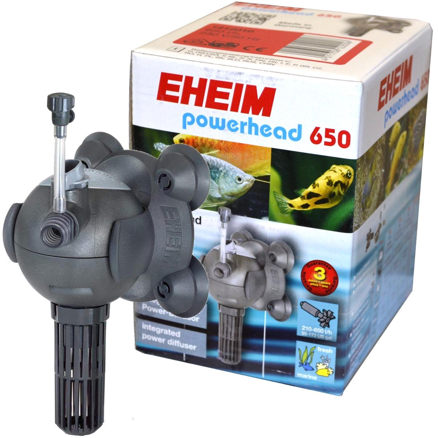 EHEIM Powerhead 650  pompe de brassage universelle à débit variable de 210 à 650l/h