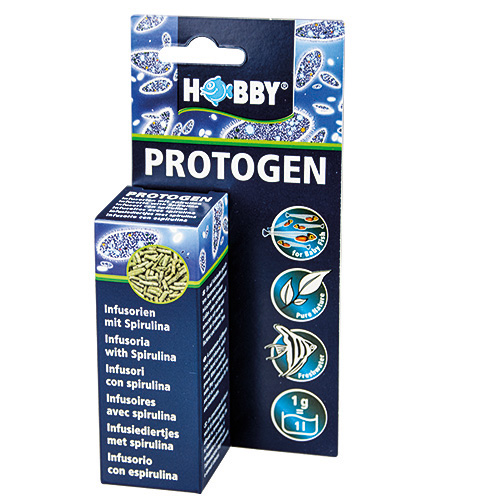 HOBBY Protogen concentré d\'infusoires déshydratés pour l\'alimentation des alevins
