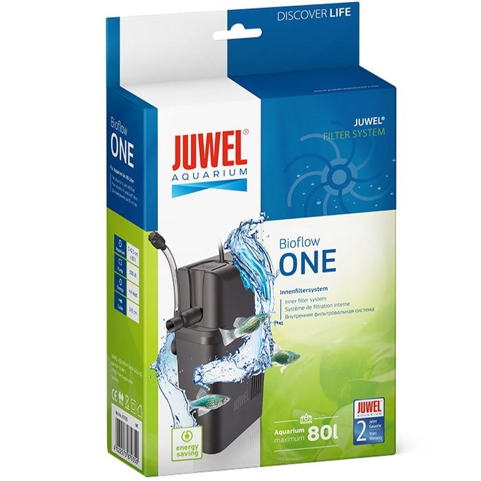 JUWEL BioFlow One petit filtre interne 300 L/h pour aquarium jusqu\'à 80 L