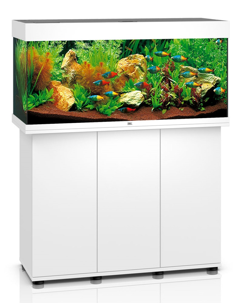Aquarium juwel rio 180 led dim 100 x 41 x 50 cm 180 for Meuble aquarium 100 x 30