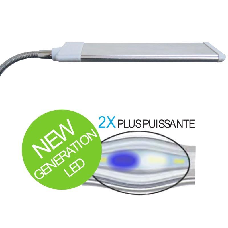 AQUAVIE Lumivie RAN06 G2 Marine lampe 6W à LEDs Blanches/Bleu 15000°k pour l\'éclairage de nano-aquarium d\'eau de mer